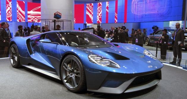Ford GT 2016, největší překvapení autosalonu vDetroitu avítěz soutěže EyesOn Design mezi novinkami pro sériovou výrobu
