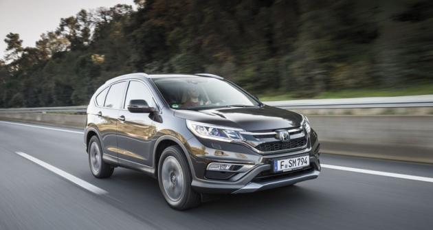 Honda CR-V model 2015 povýrazné modernizaci afaceliftu