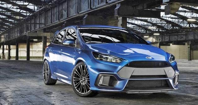 Ford Focus RS je dalším ztypů nového programu Ford Performance