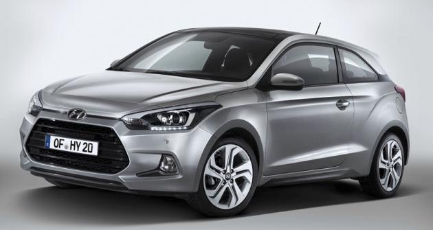 Novinkou pro rok 2015 je třídveřová verze Hyundai i20 Coupé