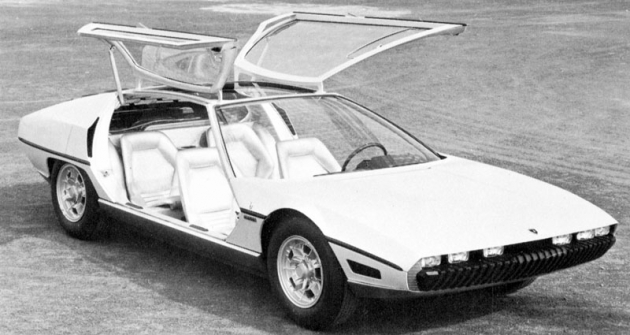Lamborghini Marzal, mistrovské dílo designu Marcella Gandiniho ukarosárny Bertone