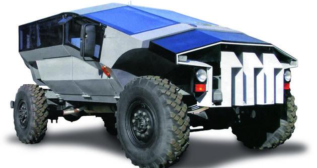 Podľa ruského denníka The Moscow Times je prototyp obrneného transportéra Karatel produktom automobilky ZIL.