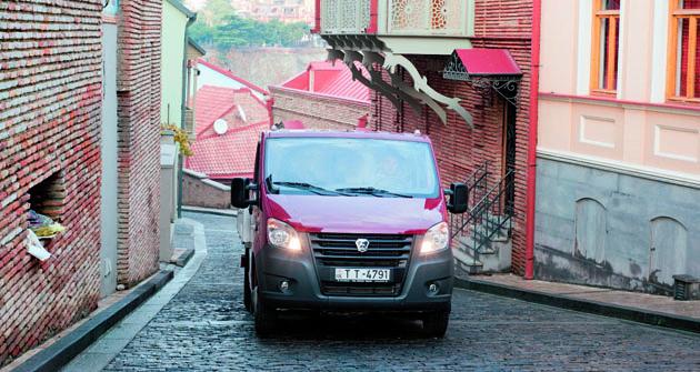 Odvozidel modelových řad GAZelle NEXT aGAZon NEXT je očekáván vGruzii poměrně velký úspěch.