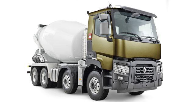 Renault Trucks řada C Cab 2.5 8x4