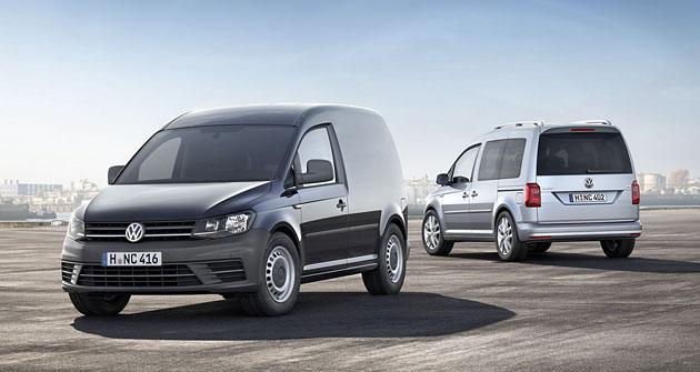 Již čtvrtá generace lehkého LUV VW Caddy byla právě představena