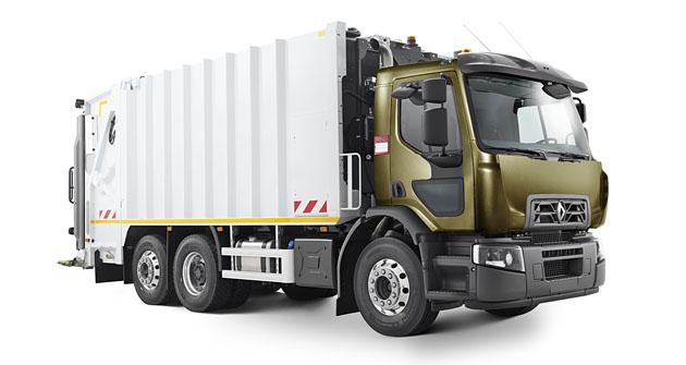 Renault D Wide je robustní podvozek využívány i pro nástavby na svoz komunálního odpadu