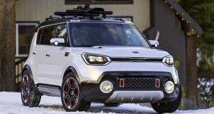 Kia Trail'ster Concept je hybridní automobil dohor, ukázka možností nazákladě Soulu druhé generace