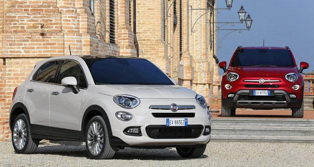Fiat 500X právě přichází také načeský trh