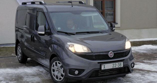 Fiat Doblò Cargo čtvrté generace přichází načeský trh
