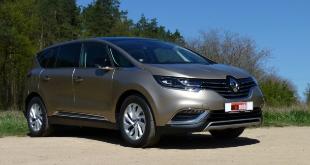 test renault espace zen nov t da byt automobil revue. Black Bedroom Furniture Sets. Home Design Ideas