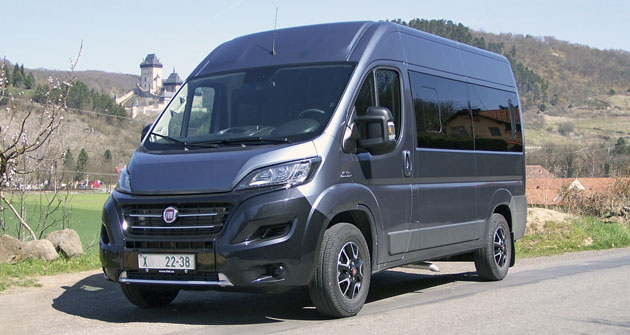 fiat professional fiat ducato panorama automobil revue. Black Bedroom Furniture Sets. Home Design Ideas