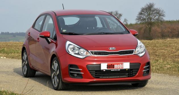 Nová Kia Rio vhodně doplňuje nabídku korejské značky ocenově přístupný apraktický automobil