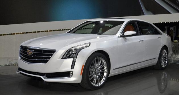 Cadillac CT6 model 2016,  nová vlajková loď značky