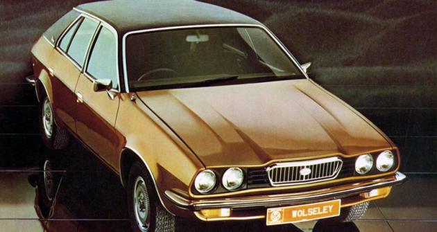Wolseley 18/22 (ADO71)  se vyráběl krátce, vroce 1975  se verze Wolseley, Austin aMorris přeměnily vnovou značku Princess