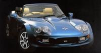 Marcos Mantara Spyder V8 (osmiválec Rover 4.5/222kW) zdevadesátých let