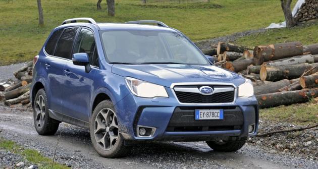 Subaru Forester 2.0D  se nyní dodává také splynulou převodovkou CVT Lineartronic