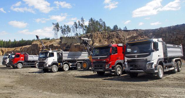 Přehlídka vozidel Volvo FMX