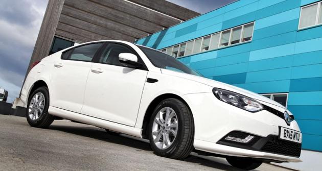 MG6 model 2015 pofaceliftu sřadou vylepšení