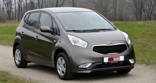 Kia Venga, vyráběná veslovenské Žilině, se dočkala faceliftu