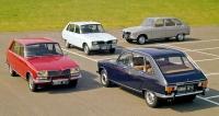 Rodinka vozů Renault16 modelového roku 1975