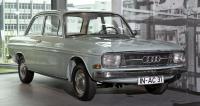 První poválečný vůz  měl pouze jméno Audi  ažádné typové označení (exponát muzea Audi vIngolstadtu)