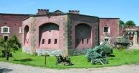 Krásnou stavbu vojenské pevnosti  Lagerfort XIII naleznete nazápadním okraji  Olomouce při staré silnici vedoucí doProstějova.