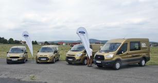 Zlatá edice Fordu Transit k50 výročí výroby