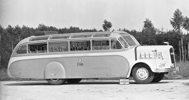 Krasavec zroku 1938, jehož koroserii vymyslel geniální konstruktér Josef Sodomka