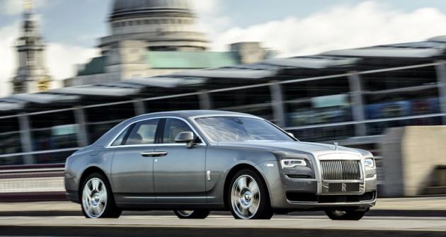 Rolls-Royce Ghost SeriesII (vylepšené provedení od2014)