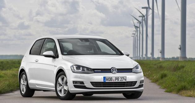 Volkswagen Golf TSI BlueMotion vykazuje spotřebu benzinu pouze 4,3l/100km