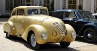 Wikov 35 zvaný Kapka, rekonstrukce  aerodynamického vozu napodvozku  výrobního čísla 606  ročníku 1931  (celkem vznikly čtyři  nebo pět originálů)