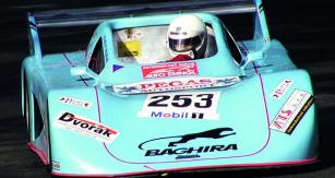 Značka Baghira patřila závodním vozům.
