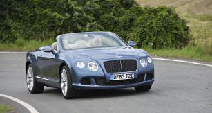 Bentley Continental GTC Speed, vrchol typové řady otevřených verzí  se zvýšeným výkonem