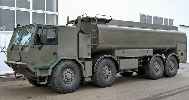 Cisterna pro 18 000 l pohonných hmot