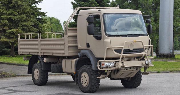 Varianta Tatry T 810 skonfigurací pohonu 4x4