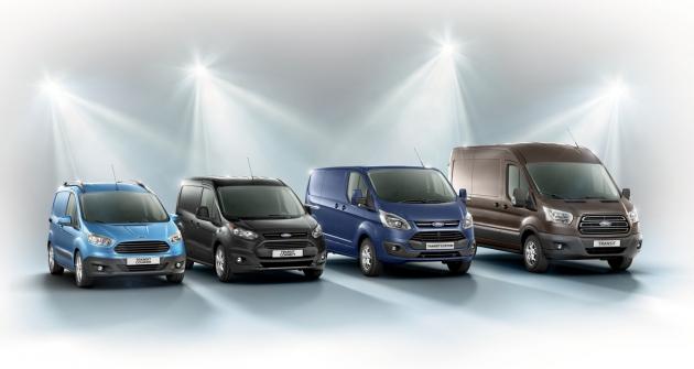 Ford Transit dokáže uspokojit extrémně široké spektrum nároků na užitkový automobil