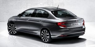 Úhledný sedan Aegea  bude vyjíždět  ztovárny vBurse, kde vznikají Fiaty Doblò, Qubo, Linea aFiorino
