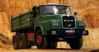 MAN 26.321 DHK  zposlední série těžkých sklápěčů (pofaceliftu 1981)