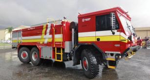 Speciálně pro australské hasiče byl připraven speciál Tatra 6x6
