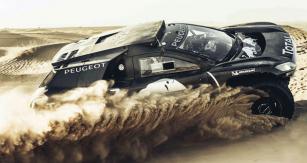 Peugeot 2008 DKR16 má poháněnou pouze zadní nápravu
