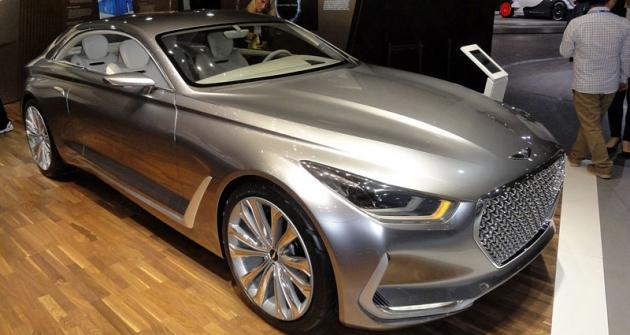 Hyundai Vision G, předobraz velkého kupé