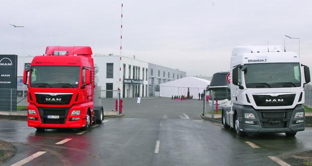 Čtvrté vlastní  servisní aobchodní  zázemí MAN Truck & Bus Czech Republic bylo slavnostně otevřeno nazačátku listopadu 2015 vPostřižíně uPrahy.