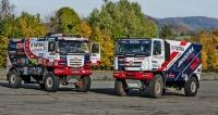 Závodní speciály Tatra Buggyra Racing mířící na soutěž Dakar 2016