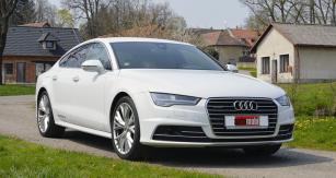 Audi A7 Sportback  patří kestylisticky  nejzdařilejším vozům  své kategorie