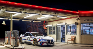 BMW 3.0 CSL Hommage R, druhá studie uvedená vkalifornském Pebble Beach