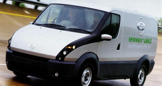 Ricardo spolupracuje navývoji  celých vozů (elektrický Emerald t-001 sprodlužovačem dojezdu 1.4 Diesel)