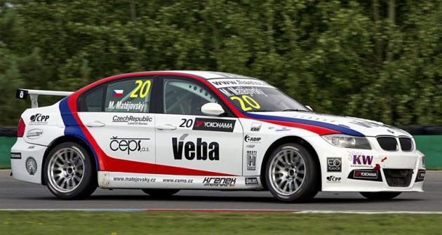 Michal Matějovský (BMW 320si),  mistr ETCC 2015 vetřídě Super 2000 TC2