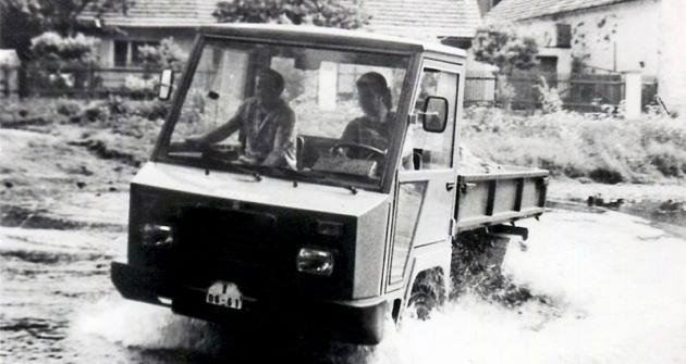 První Destacar  při náročných  provozních zkouškách