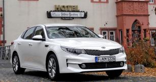 Evropské provedení  sedanu Kia Optima nové generace jsme vyzkoušeli vokolí Frankfurtu