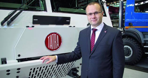 Martin Bednarz již vespolečnosti Tatra, a.s. vletech 2008 až 2011 pracoval napozici výrobního ředitele.